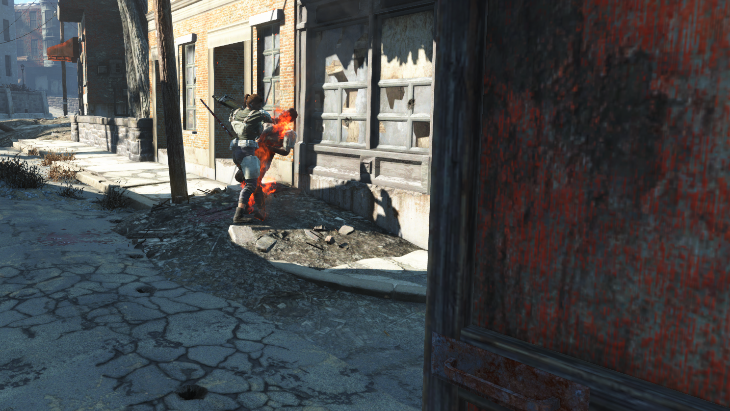 Raider knocked down by the loneprovisioner