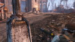 The lone provisioner shooting at a super mutant