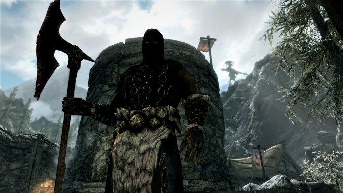 skyrim wanted to try the chopping block.png