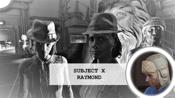 Residents of vault 88 Subject 10 Raymond