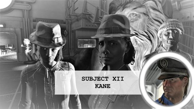 Residents of vault 88 Subject 12 Kane