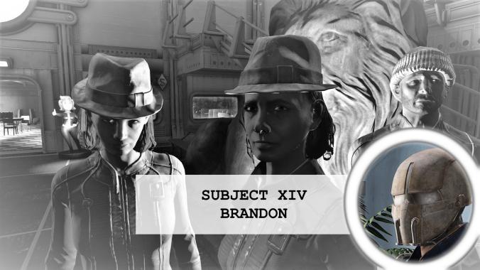 Residents of vault 88 Subject 14 Brandon