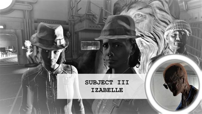 Residents of vault 88 Subject 3 Izabelle
