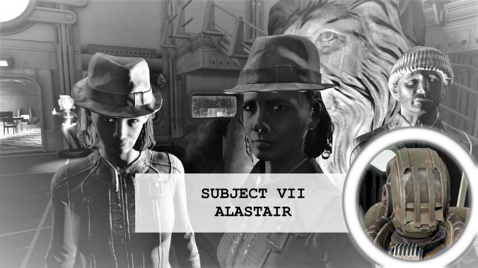 Residents of vault 88 Subject 7 Alastair