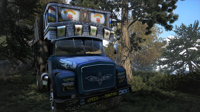 Far Cry 4 kick ass hippie truck