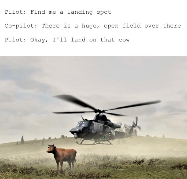 Arma 2 pilot logic