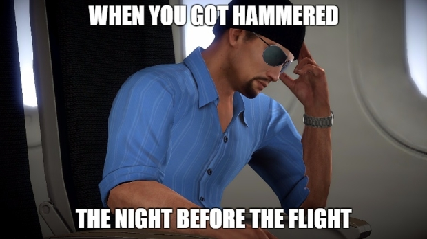 Alpha Protocol hammered before the flight