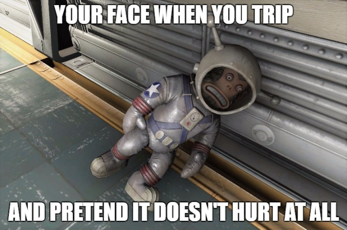 Fallout 4 pretend it doesnt hurt when you fall.jpg