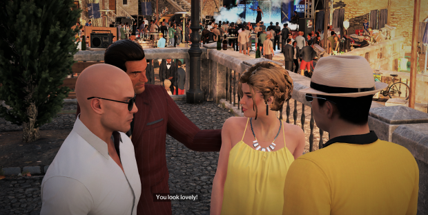 Hitman 47 picking up chicks with celeb.png
