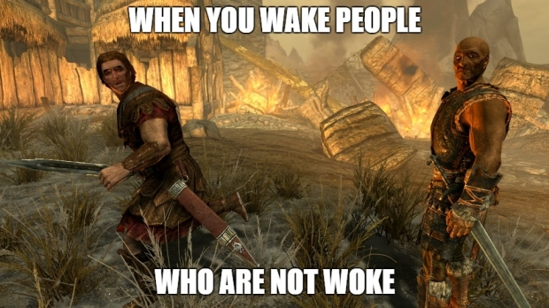 skyrim when you wake people that are not woke.jpg
